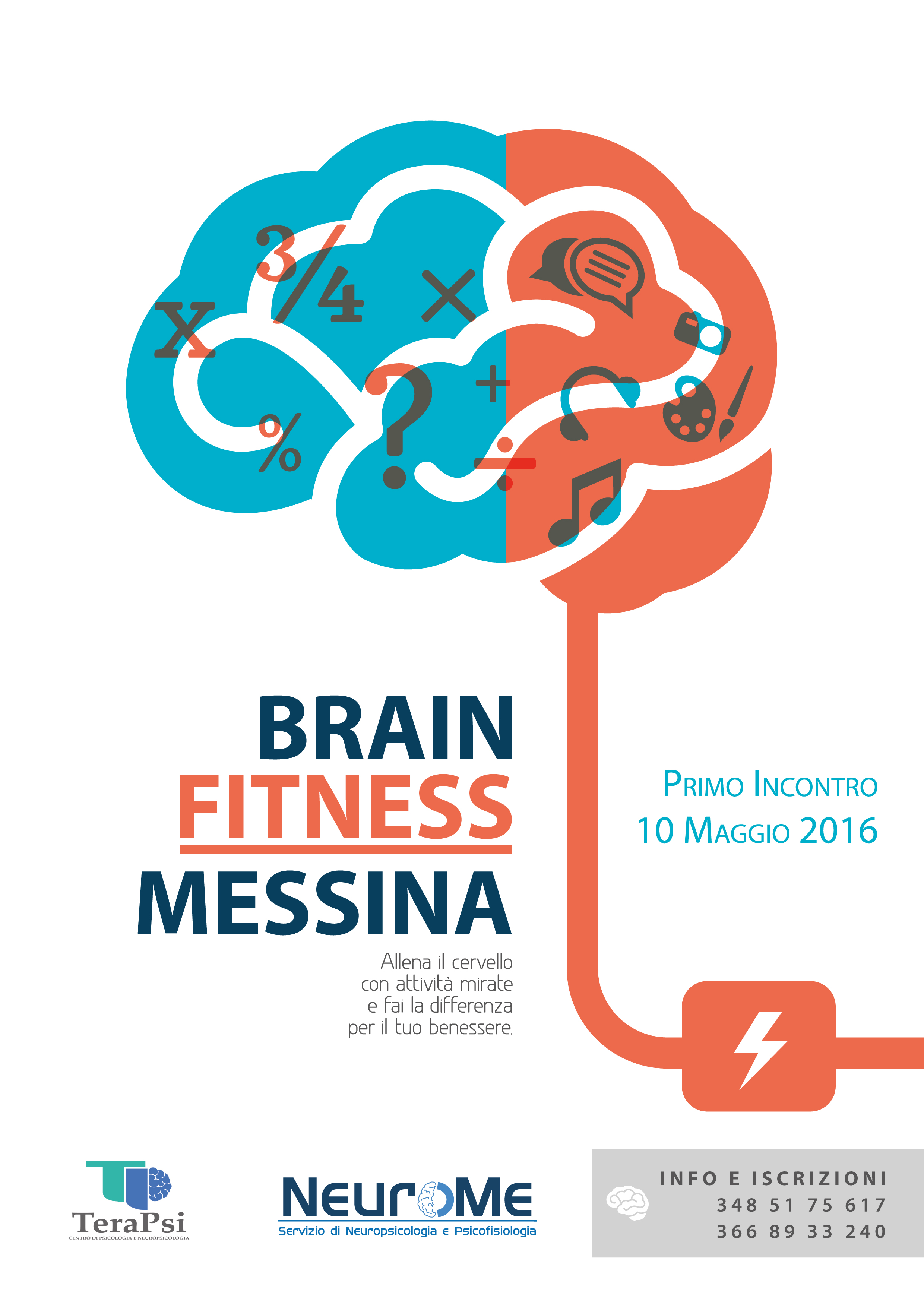 Locandina Brain Fitness Messina