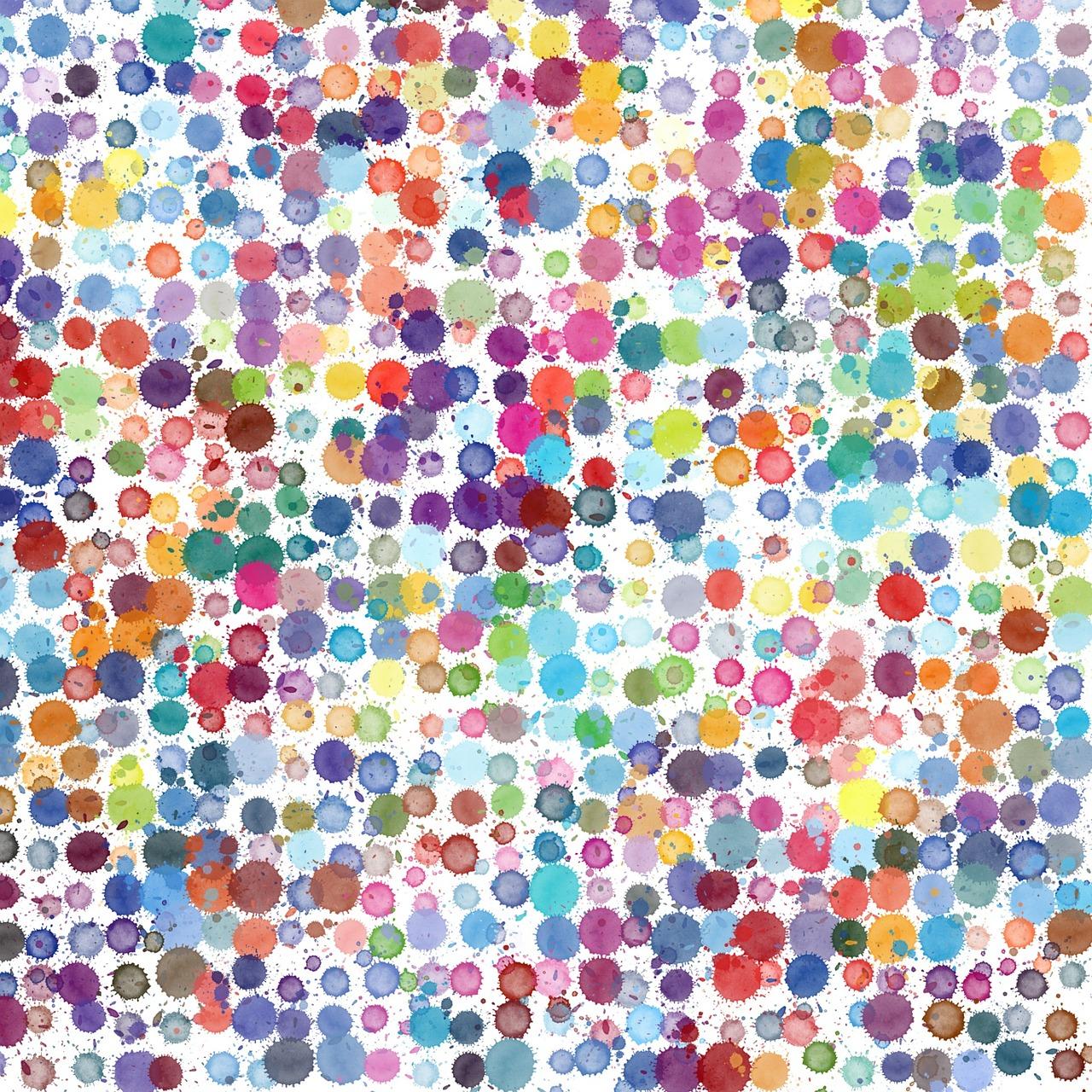 gocce di colore