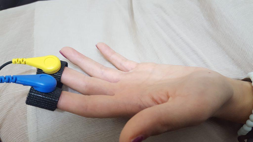 sensori per la rilevazione della conduttanza cutanea